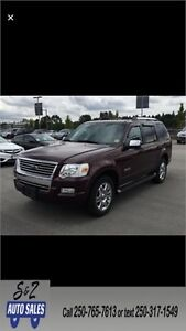 2006 Ford Explorer Limited 4x4 7 passenger! LOW KM!