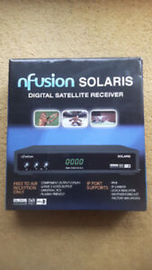 (Free To Air) Satellite Receiver, nfusion SOLARIS, *Brand New*