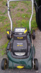 Non working Yardworks Electric Battery 24V Mower