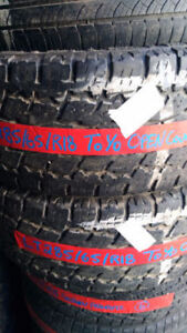 2 Used 285-65-18 Toyo Open Country AT