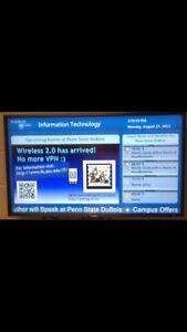 5 Digital Screen/Menu System for sale
