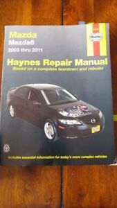 2003-2011 Mazda6 Haynes Repair Manual