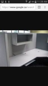 Steelcase Office cubicle Units Fully equipped. In good condition
