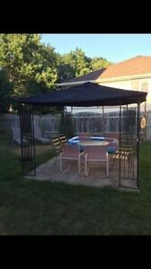 Light weight, Metal Canopy with New Cover Kitchener / Waterloo Kitchener Area image 1