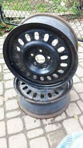 "Steel Rims 16"" Ford Five Bolt - NEW! Lower Price"