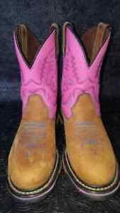 Cowboy boots size 6 worn once!