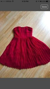 BRAND NEW Red Chiffon Dress from Jacob