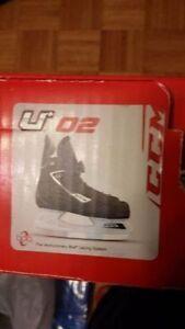 CCM Boa Junior Hockey Skates - Size 1 Youth