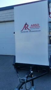 Portable Washroom on a 10' Trailer for Rent! Peterborough Peterborough Area image 4