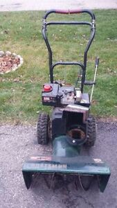 SnowBlowers 5 HP and UP