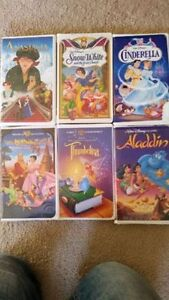 6 Disney movies VHS $20. for all  call 519-673-9819 London Ontario image 1