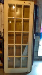 French door plus 5 other doors