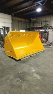 LOADER & SKIDSTEER BUCKETS, CANADIAN BUILT