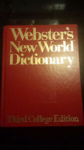 Webster's World Dictionary - Third College Edition