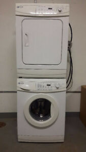 Maytag white 24 inch washer and dryer for sale
