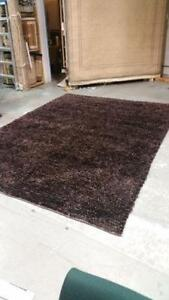 Hand knotted Wool Shag Area rug size 8x11 feet