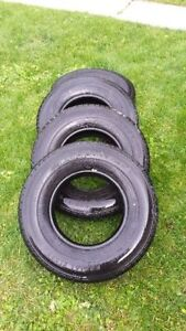 Set of 4 235/85r16 10 Ply All Season Truck Tires 40-50% worn