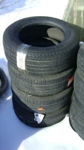 255 60 r17 SET OF CONTINENTAL 4X4 CONTACT ALL SEASON TIRES $120
