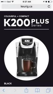 KEURIG 2.0 K200 Plus