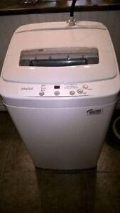 Haier 1.5 cu ft portable washing machine