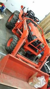 Compact Tractor Work