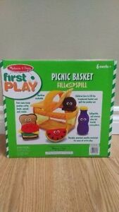 Melissa & Doug Picnic Basket Fill & Spill - New still sealed Kitchener / Waterloo Kitchener Area image 3