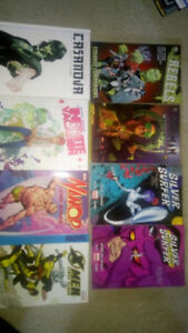 Graphic novels lot for $100 will deliver in Windsor or Chatham