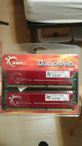 G.SKILL 4GB F3-10666CL9D-4GBNQ DDR3 SDRAM 1333 (PC3 10666) Kitchener / Waterloo Kitchener Area image 1