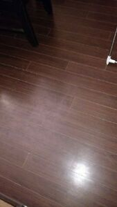 Brown laminate 12mm flooring