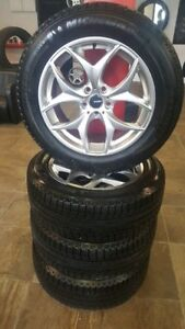 255/55/19 Michelin Latitude XICE & Rims / DYNASTY AUTO