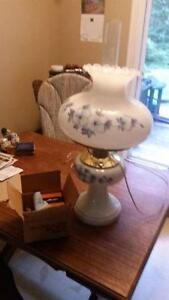 Vintage Electric /Electric Oil Lamp for Sale