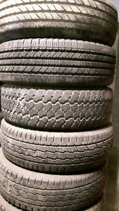 245/70/17 multiple used tires
