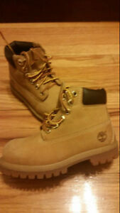 KIDS Timberland 6 Inch Premium Kids Wheat Waterproof Boots