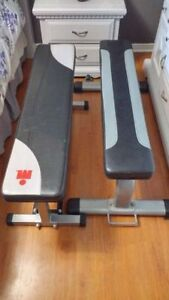 (2) Olympic Workout Weight Lifting Benches