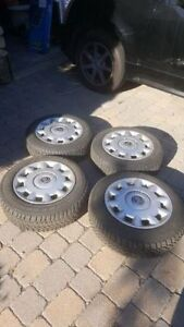 Volvo winter tires and wheels 185-65-15 V70 S70