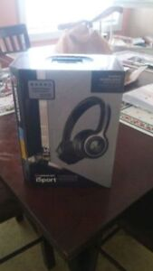 Brand New Monster iSport Blu Tooth Wireless  Headset