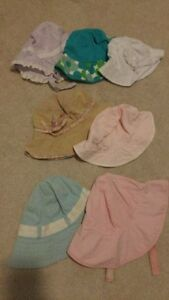 Baby and little girl Sun Hats