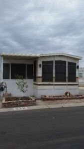 Yuma AZ Fully furnished park model  in 55  park For sale