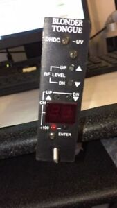 Blonder Tongue DHDC-UV / 6265A Up-Converter Module USED