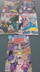 Used Comics from the 80's - $9