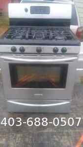 """Gas stove 32"""" inch stainless steel"""