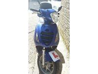 125cc Honda Moped