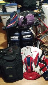 Goalie gear for sale
