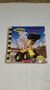 Tonka Hardcover Book - If I could drive a......