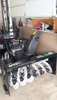 45 inch dual wheel MTD Snowblower