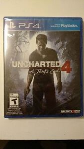 Brand new still sealed Uncharted 4 for PS4