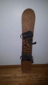 Planche à neige, fixes et bottes