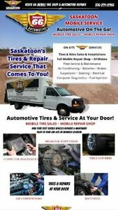 Mobile Tire Service, We Sell All Brands