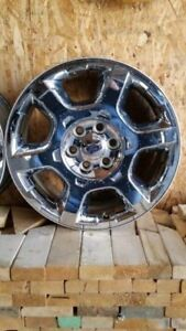 ***For sale 4 2009-2018 f1500 20 inch chrome wheels with tpms***