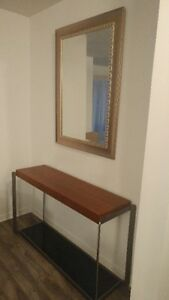almost NEW Modern Entryway Table